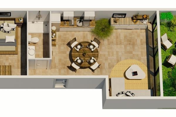 Foto de departamento en venta en loft deluxe , playa del carmen centro, solidaridad, quintana roo, 5695186 No. 07