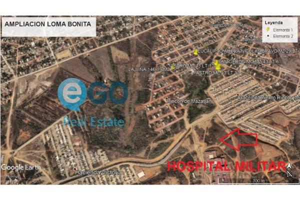 Foto de terreno habitacional en venta en  , loma bonita, mazatlán, sinaloa, 5890068 No. 01