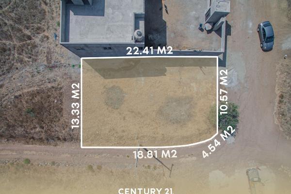 Foto de terreno habitacional en venta en loma del alamo l-01 mzn 104 , lomas altas ii, playas de rosarito, baja california, 12813151 No. 01