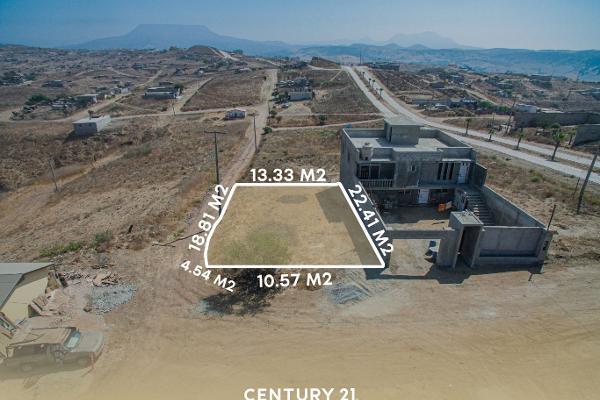 Foto de terreno habitacional en venta en loma del alamo l-01 mzn 104 , lomas altas ii, playas de rosarito, baja california, 12813151 No. 02