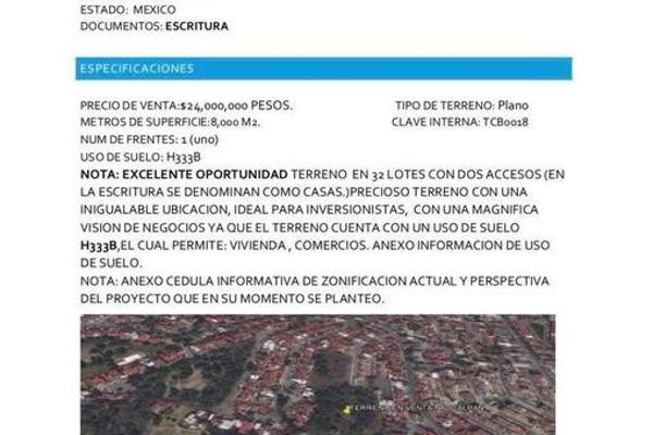 Foto de terreno habitacional en venta en  , lomas de san mateo, naucalpan de juárez, méxico, 11770734 No. 02