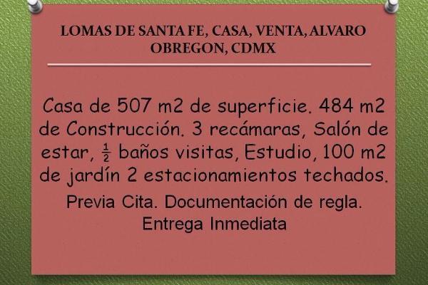Foto de casa en venta en  , lomas de santa fe, álvaro obregón, distrito federal, 2642024 No. 01