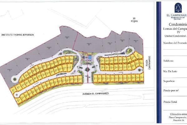 Foto de terreno habitacional en venta en  , lomas del campanario iii, querétaro, querétaro, 14022546 No. 06