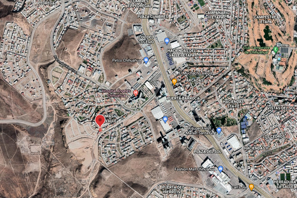 Foto de terreno habitacional en venta en  , lomas del valle i y ii, chihuahua, chihuahua, 0 No. 02