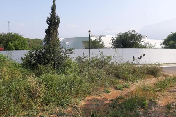 Foto de terreno habitacional en venta en  , los cristales fraccionamiento campestre, monterrey, nuevo león, 9931430 No. 02