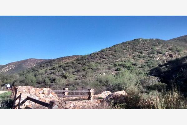 Foto de terreno habitacional en venta en los encinales n/a, san antonio de las minas, ensenada, baja california, 5381186 No. 01