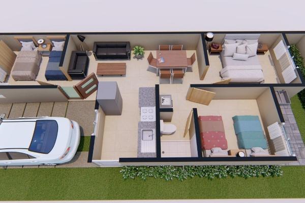 Foto de casa en venta en  , los llanos, arteaga, coahuila de zaragoza, 13806432 No. 08