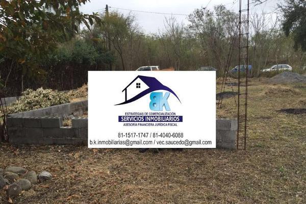 Foto de terreno habitacional en venta en  , los nogales, montemorelos, nuevo león, 10137354 No. 01