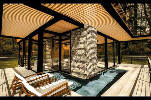 Foto de casa en condominio en venta en  , los saúcos, valle de bravo, méxico, 20143185 No. 02