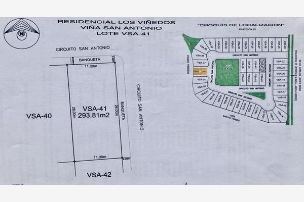 Foto de terreno habitacional en venta en . , los viñedos, torreón, coahuila de zaragoza, 18986457 No. 01