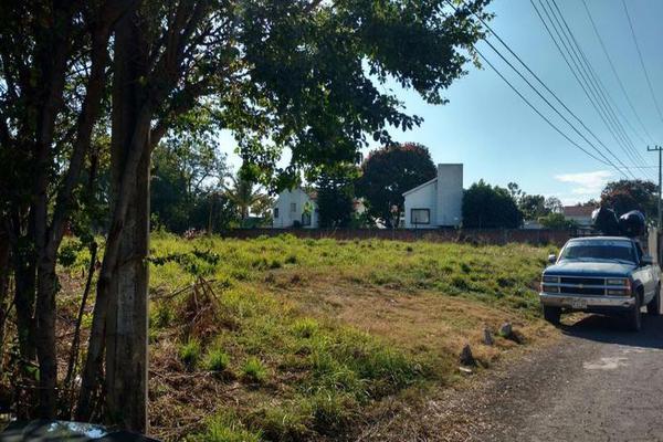 Foto de terreno habitacional en venta en  , los viveros, jiutepec, morelos, 7962605 No. 01