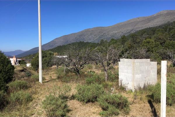 Foto de terreno habitacional en venta en lote 2 parcela 26, los lirios, arteaga, coahuila de zaragoza, 13313976 No. 02