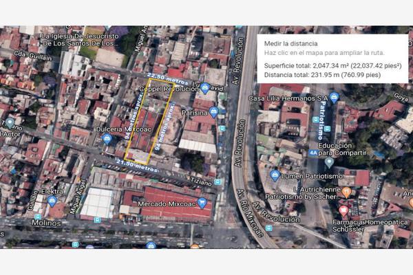 Foto de terreno comercial en venta en luis david 18, mixcoac, benito juárez, df / cdmx, 13751413 No. 02