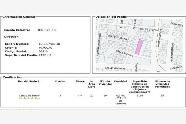 Foto de terreno comercial en venta en luis david 18, mixcoac, benito juárez, df / cdmx, 13751413 No. 04
