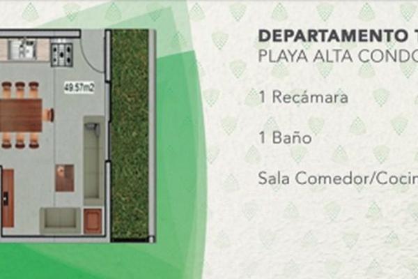Foto de departamento en venta en  , luis donaldo colosio, solidaridad, quintana roo, 5671317 No. 02