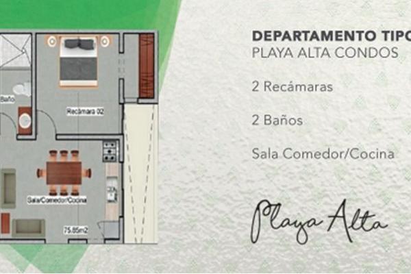 Foto de departamento en venta en  , luis donaldo colosio, solidaridad, quintana roo, 5671317 No. 03