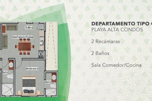 Foto de departamento en venta en  , luis donaldo colosio, solidaridad, quintana roo, 5671317 No. 05