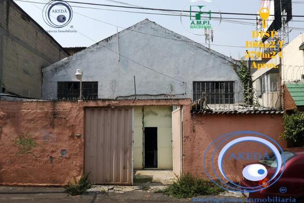 Foto de terreno habitacional en venta en luisa a 300m de tlalpan, nativitas, benito juárez, df / cdmx, 10050220 No. 01