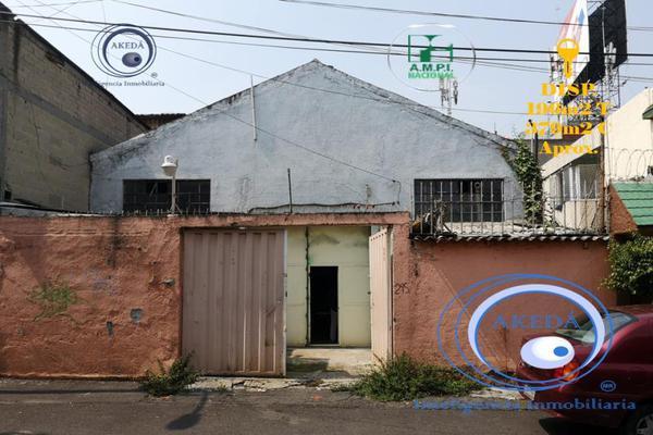 Foto de terreno habitacional en venta en luisa a 300m de tlalpan, villa de cortes, benito juárez, df / cdmx, 10050220 No. 01
