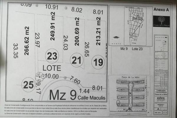 Foto de terreno habitacional en venta en maculis , supermanzana 325, benito juárez, quintana roo, 0 No. 04