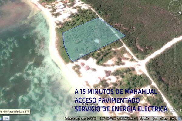 Foto de terreno habitacional en venta en  , mahahual, othón p. blanco, quintana roo, 18507940 No. 01