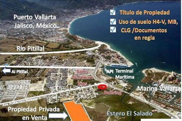 Foto de terreno habitacional en venta en mangle , educación, puerto vallarta, jalisco, 2723428 No. 06