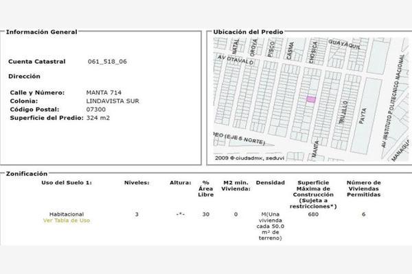 Foto de terreno comercial en venta en manta 00000, lindavista sur, gustavo a. madero, df / cdmx, 17714375 No. 01