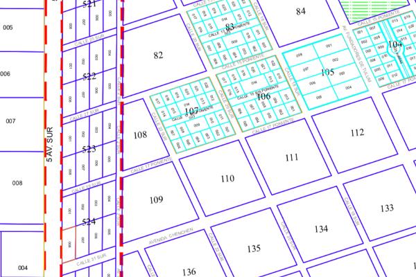 Foto de terreno habitacional en venta en manzana 108 region 15 na , villas tulum, tulum, quintana roo, 6166290 No. 03