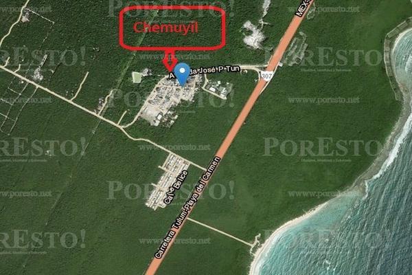 Foto de terreno habitacional en venta en manzana 126 chan chemuyil , ciudad chemuyil, tulum, quintana roo, 8319935 No. 07