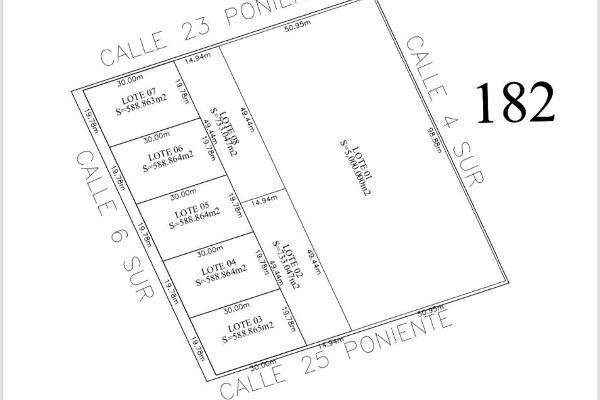 Foto de terreno habitacional en venta en manzana 182 region 15 manzana 182 region 15 , villas tulum, tulum, quintana roo, 6134933 No. 01
