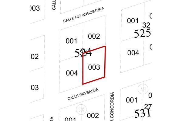 Foto de terreno habitacional en venta en manzana 524 lote 003 region 07 , tulum centro, tulum, quintana roo, 20182772 No. 01