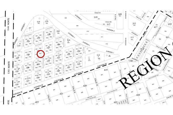 Foto de terreno habitacional en venta en manzana 524 lote 003 region 07 , tulum centro, tulum, quintana roo, 20182772 No. 03