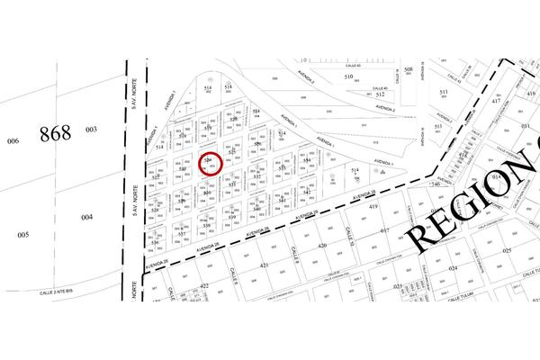 Foto de terreno habitacional en venta en manzana 524 lote 003 region 07 , tulum centro, tulum, quintana roo, 20182772 No. 05
