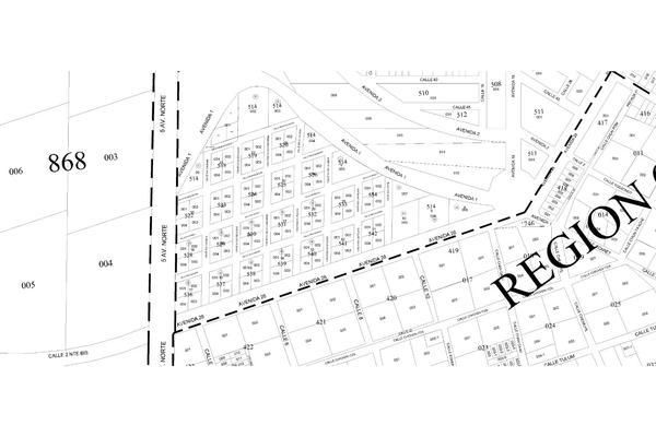 Foto de terreno habitacional en venta en manzana 524 lote 003 region 07 , tulum centro, tulum, quintana roo, 20182772 No. 08