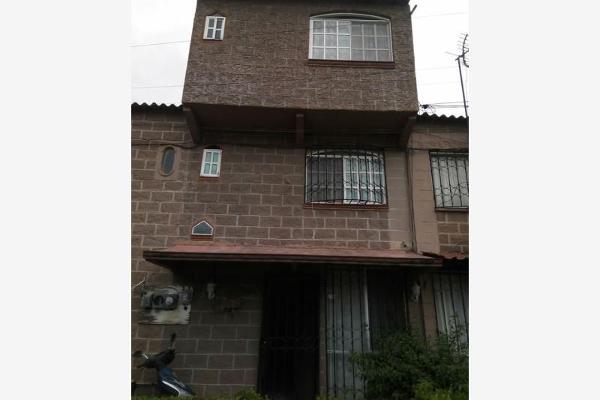 Foto de casa en venta en manzana 8 lt 1 condominio 1 viv ii condominio 1 viv ii, el laurel, tultitlán, méxico, 4236789 No. 01