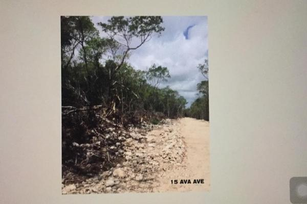 Foto de terreno habitacional en venta en manzana 940 lotes 12 region 12 na , villas tulum, tulum, quintana roo, 6166292 No. 07