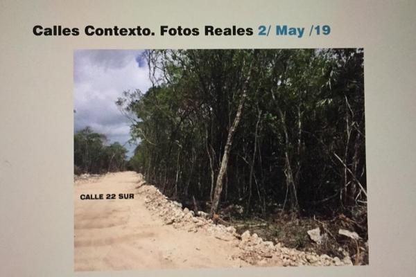 Foto de terreno habitacional en venta en manzana 940 lotes 12 region 12 na , villas tulum, tulum, quintana roo, 6166292 No. 02
