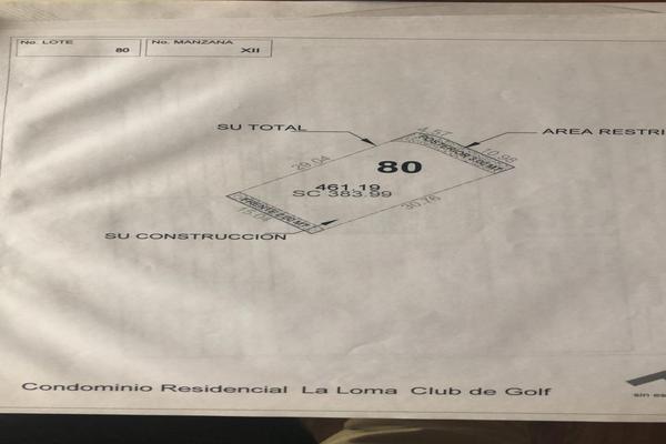 Foto de terreno habitacional en venta en manzana xii (club de golf la loma) , club de golf la loma, san luis potosí, san luis potosí, 7243871 No. 10