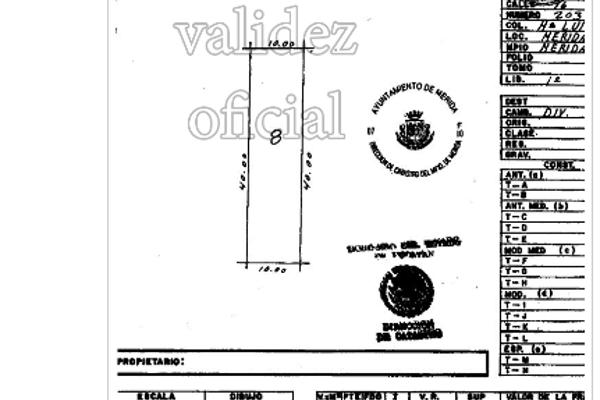 Foto de terreno habitacional en venta en  , maria luisa, mérida, yucatán, 3075600 No. 01