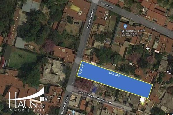 Foto de terreno habitacional en venta en mariano abasolo , tlalpan centro, tlalpan, df / cdmx, 15447313 No. 01