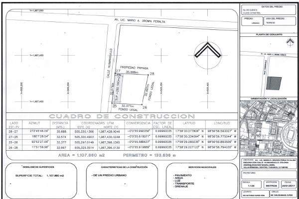 Foto de terreno comercial en venta en mario brown , sanchez magallanes, centro, tabasco, 5339204 No. 01