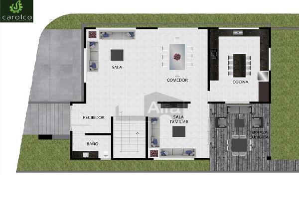 Foto de casa en venta en mariposa azul , carolco, monterrey, nuevo león, 10014197 No. 03