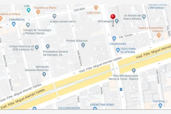 Foto de terreno comercial en venta en medellín 00, roma sur, cuauhtémoc, df / cdmx, 8776858 No. 02