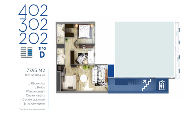Foto de departamento en venta en miami , napoles, benito juárez, df / cdmx, 14030652 No. 19