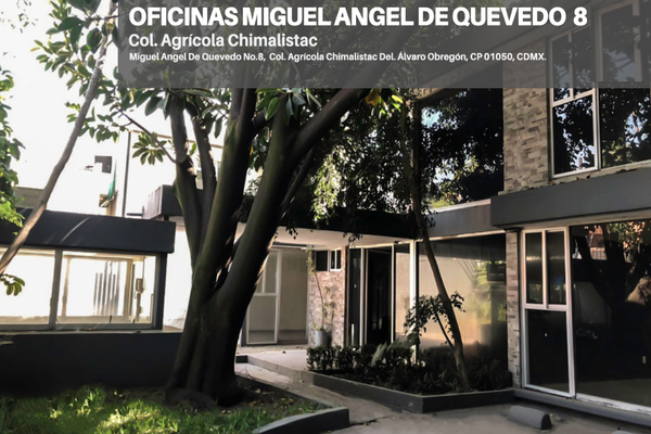 Foto de oficina en renta en miguel ángel de quevedo , chimalistac, álvaro obregón, df / cdmx, 9213812 No. 01