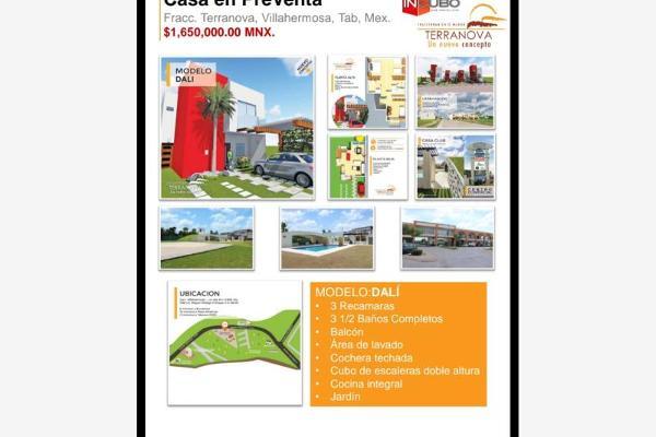 Foto de casa en venta en fraccionamiento terranova 2, miguel hidalgo, centro, tabasco, 5692010 No. 02