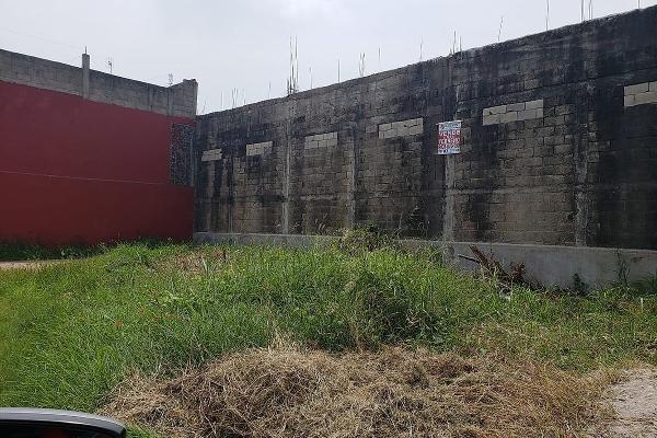 Foto de terreno habitacional en venta en  , plutarco elias calles cura hueso, centro, tabasco, 5693435 No. 02