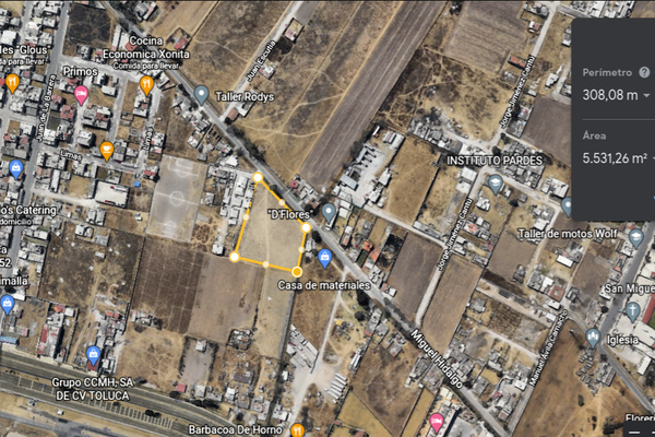 Foto de terreno industrial en venta en miguel hidalgo , san salvador, toluca, méxico, 18729735 No. 04
