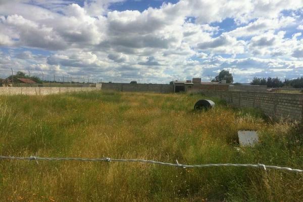 Foto de terreno habitacional en venta en  , milpilla de abajo, jesús maría, aguascalientes, 4663000 No. 01