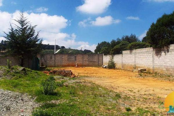 Foto de terreno habitacional en venta en  , mineral del monte centro, mineral del monte, hidalgo, 8063905 No. 04
